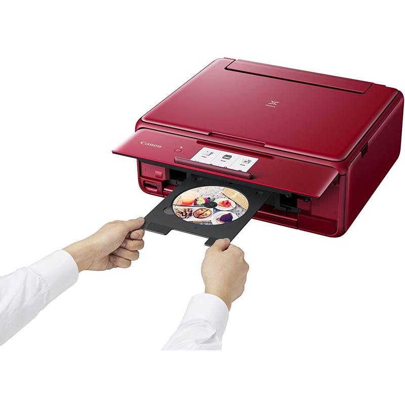 Impresora Multifunción Canon PIXMA TS8152 Wi-Fi CD / DVD