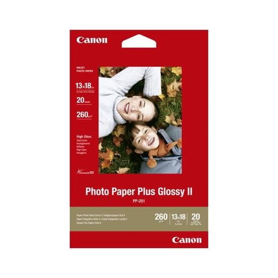 Papel Foto Canon PP-201 260g/m2 50 pcs (10x15 cm)