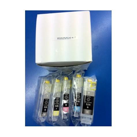 PGI-525 / CLI-526 Cartucho de Tinta Compatible Vacio Chip
