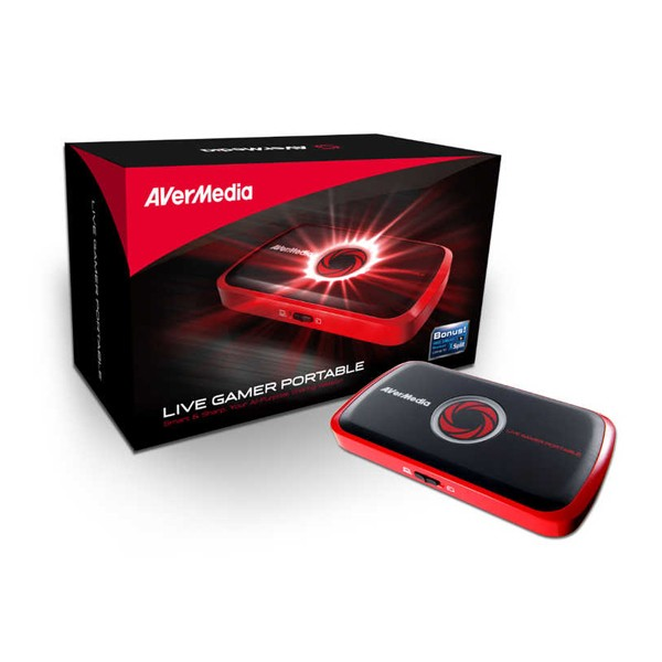 Capturadora de Video Avermedia Live Gamer Portable