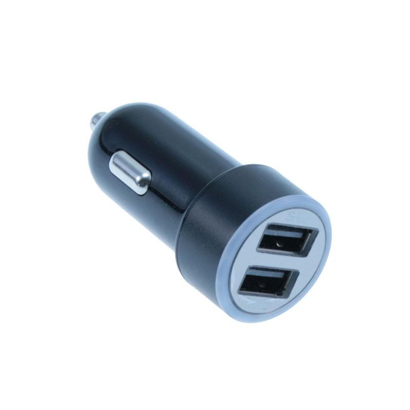 Cargador de Coche con 2 Puertos USB MediaRange