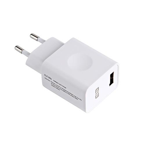 Cargador USB Carga rápida QC 3.0 Elephone Ele Blitz Blanco