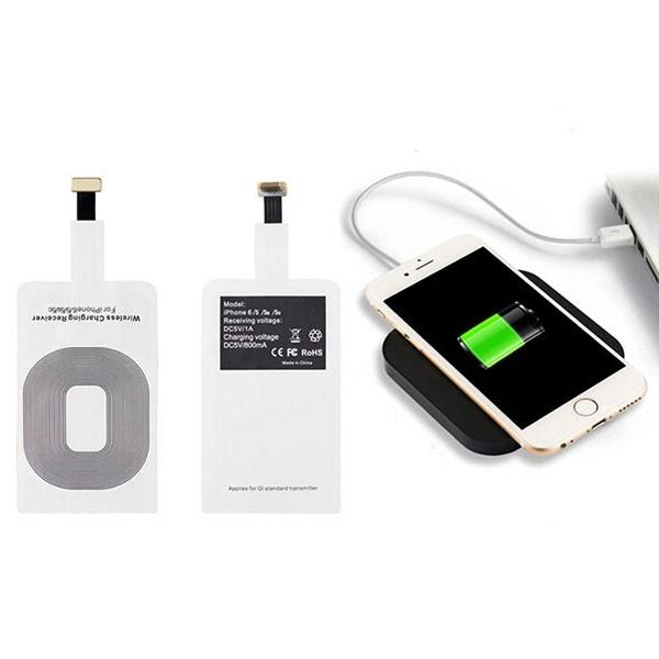 Módulo Receptor de Carga Inalámbrica Ultra Fino Lightning para iPhone