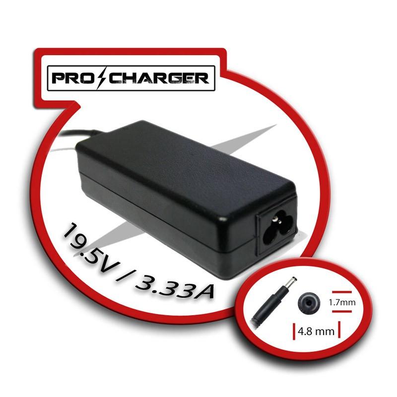 Cargador Portatil HP Compatible Pro Charguer 19.5V / 3.33A / 65W