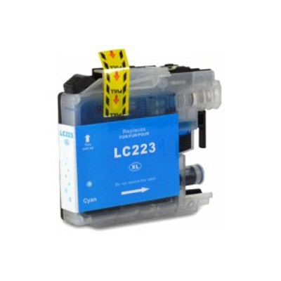 LC-223CY / LC221 Cartucho de Tinta Compatible Premium (Cian)