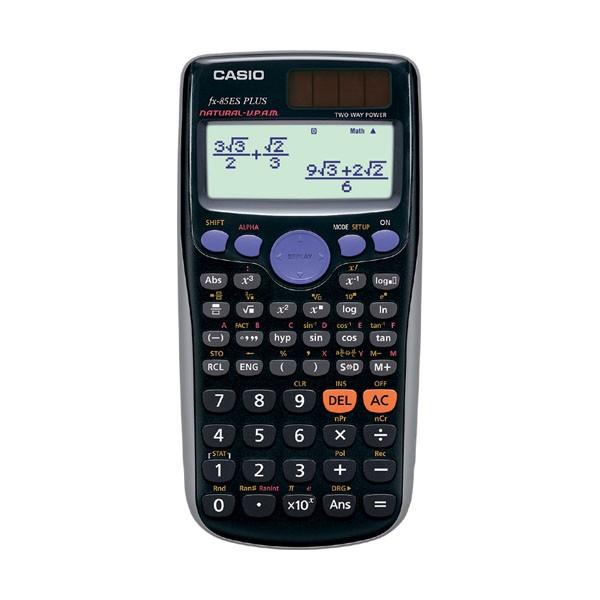 Calculadora Cientifica Casio FX-85ES PLUS 240 funciones