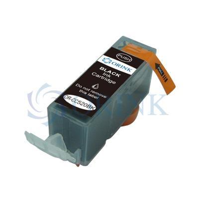 PGI-520BK Cartucho de Tinta Compatible Orink (Pigmento Negro)