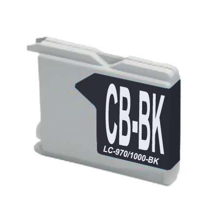 LC970 - LC1000BK Cartucho de Tinta Compatible Premium (Negro)