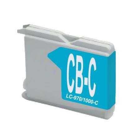LC970 - LC1000C Cartucho de Tinta Compatible Premium (Cian)