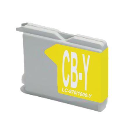 LC970 - LC1000Y Cartucho de Tinta Compatible Premium (Amarillo)