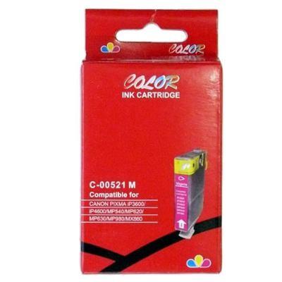 CLI-521M Cartucho de Tinta Compatible Premium (Magenta)