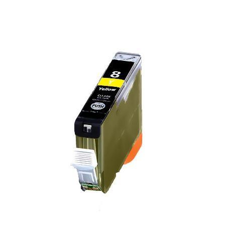 CLI-8Y Cartucho de Tinta Compatible Premium (Amarillo)