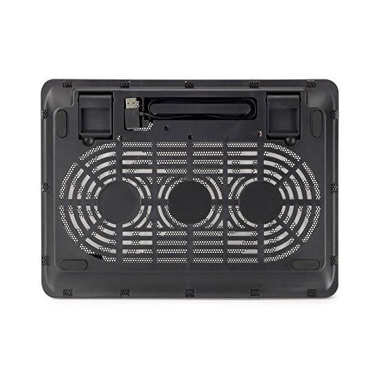 Soporte para Portátil con Ventilación Conceptronic CNBCOOLPAD2F 17\