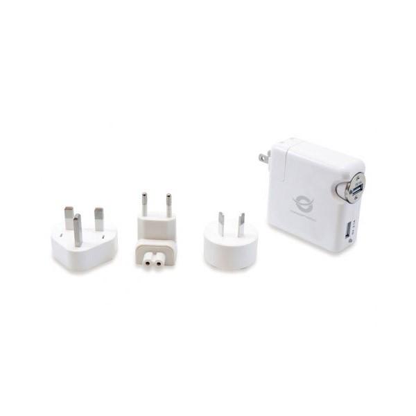 Kit Cargador de Viaje Universal USB Conceptronic CUSBCHARKIT