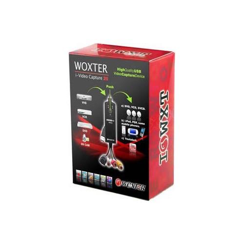 Convertidor de VHS a USB Woxter I-Video Capture 20 WX295