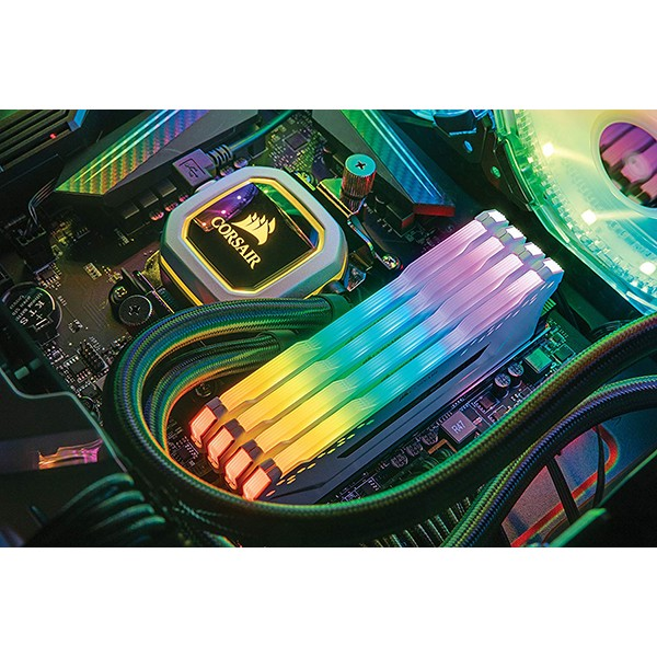 Memoria RAM Corsair Vengeance RGB PRO WHITE 16GB (2x8GB) DDR4 3200MHz CL16