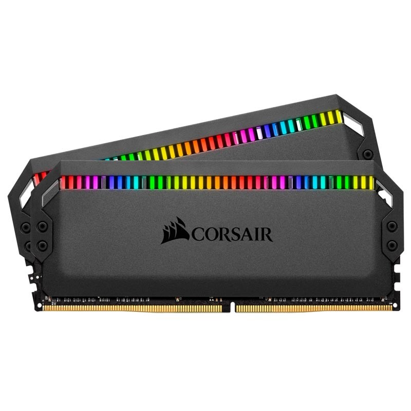 Kit Memoria Corsair Dominator Platinum RGB 16GB DDR4 3200MHz (2x8GB) C16