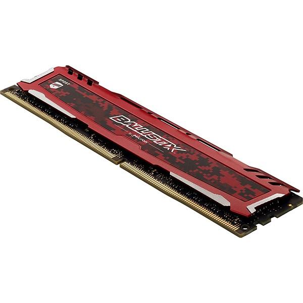 Memoria Crucial Ballistix Sport LT 4GB DDR4 2666MHz Rojo