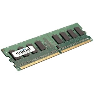 Memoria Crucial 2GB DDR2 800 CL6