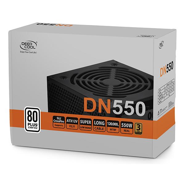 Fuente de Alimentacion Deepcool DN550 550W 80 PLUS