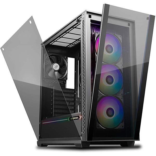 Caja PC E-ATX Deepcool MATREXX 70 ADD-RGB 3F Negra