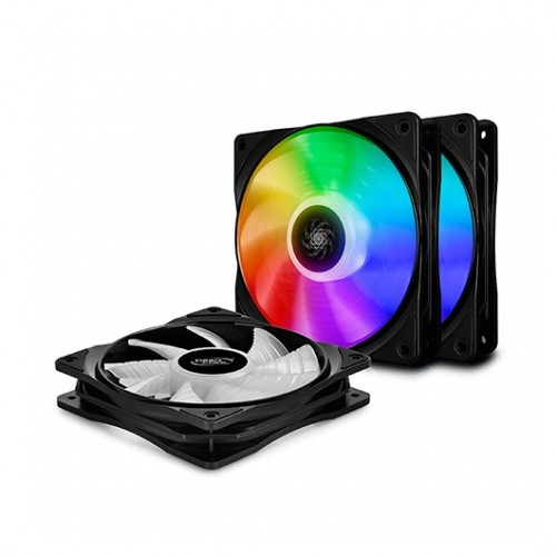Ventilador PC Deepcool CF 120 3 In 1 RGB