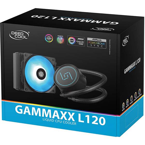 Refrigeración Líquida Deepcool GAMMAXX L120 120mm