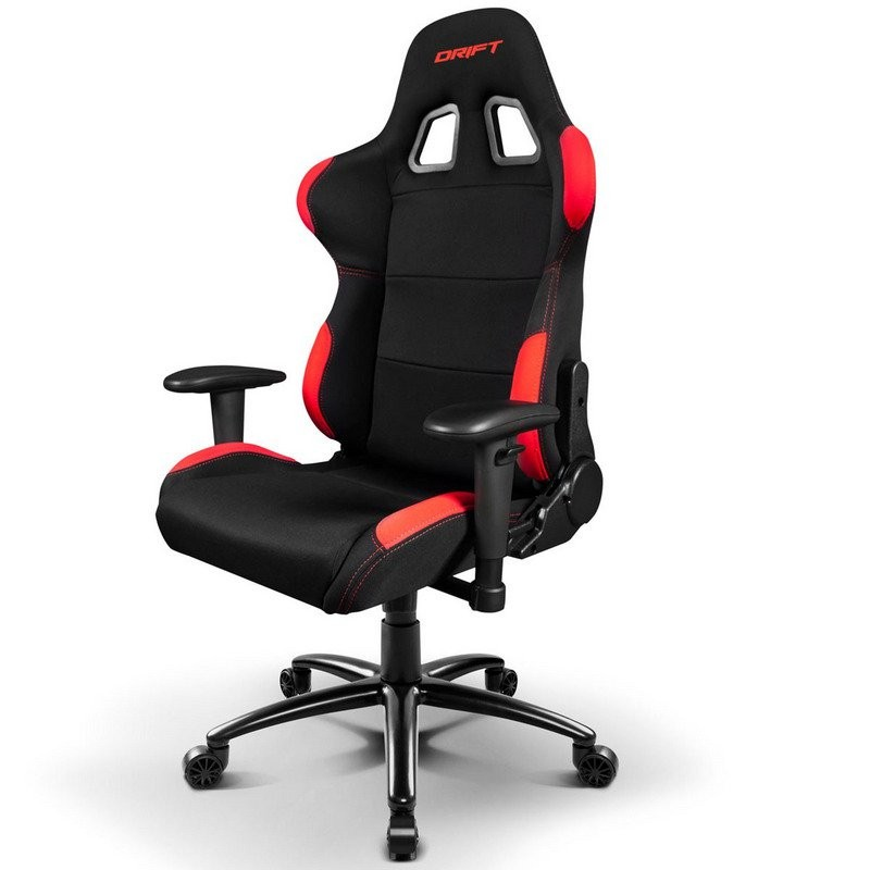 Silla Gaming Drift DR-100 Negro/Rojo