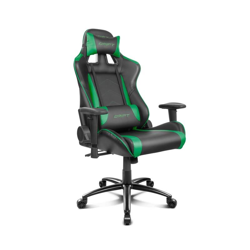 Silla Gaming DRIFT DR150 Negro / Verde