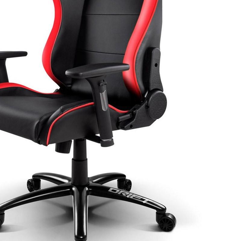 Silla Gaming DRIFT DR200 Negro / Rojo