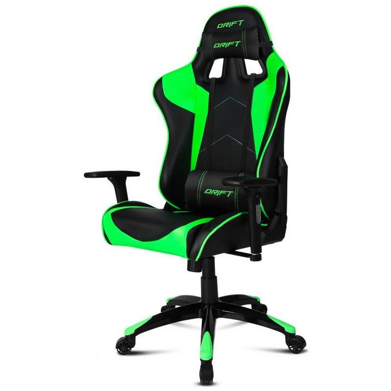 Silla Gaming DRIFT DR300 Negro / Verde