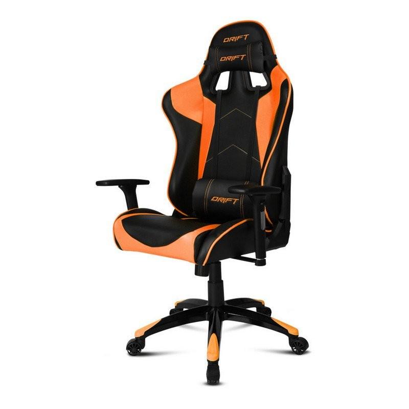 Silla Gaming DRIFT DR300 Negro / Naranja
