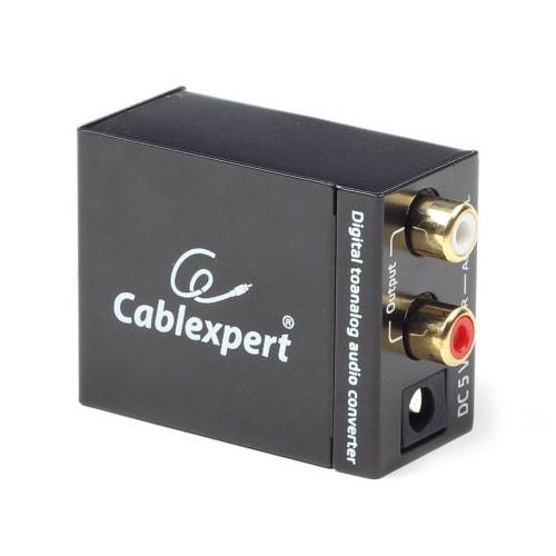Convertidor de Audio de Digital a Analógico Gembird DSC-OPT-RCA-001
