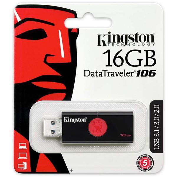 Pendrive 16GB Kingston DataTraveler 106 USB 3.1