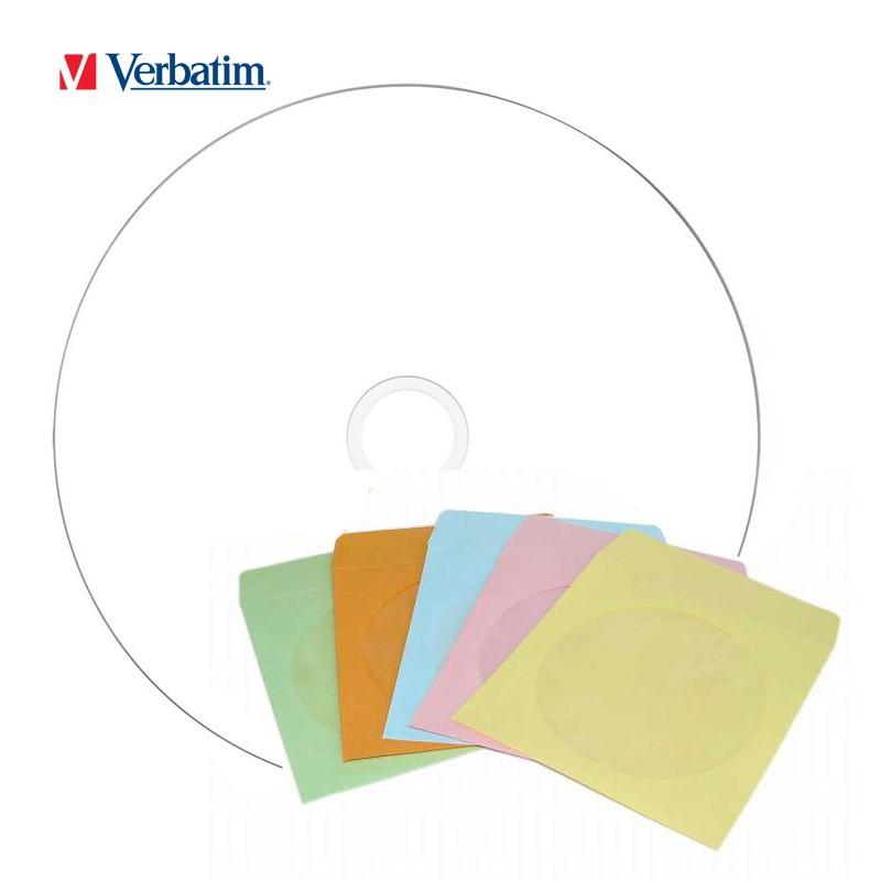 Dvd+r doble capa 8x verbatim ff printable + sobre de papel (5 uds)