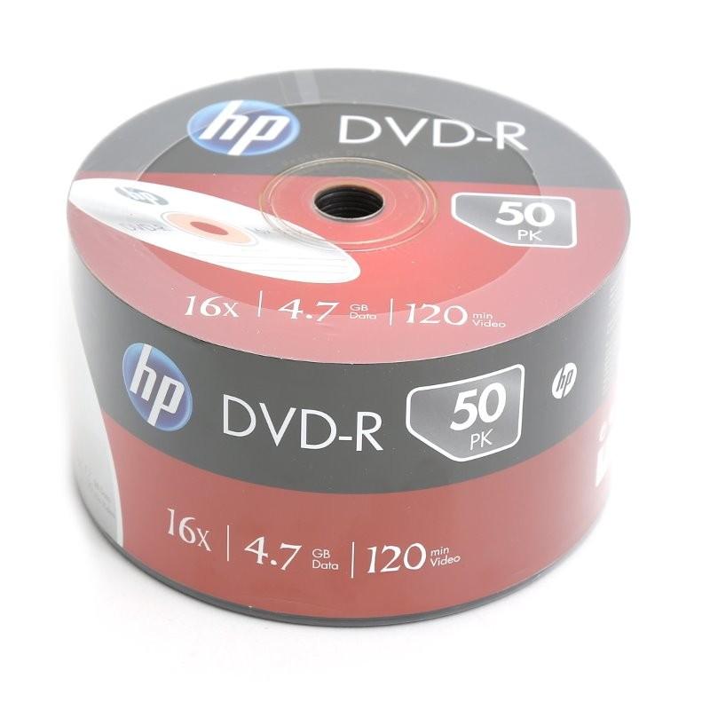 DVD-R 16x HP Bobina 50 uds
