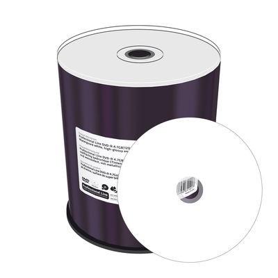 DVD-R 16x Mediarange Prof.Line Waterguard FF InkJet 100 uds