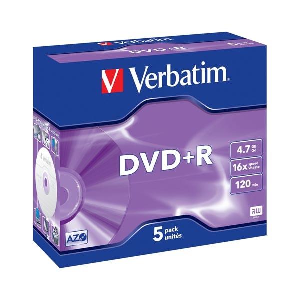 DVD+R 16x Verbatim