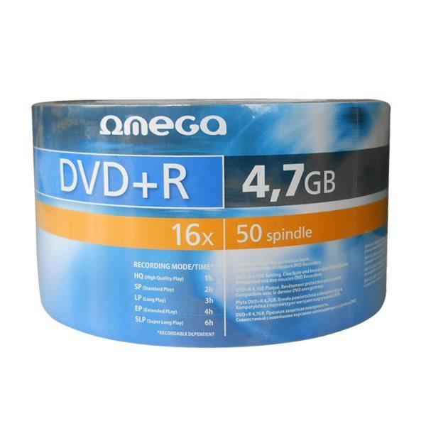 DVD+R 16X Omega Bobina 50 uds