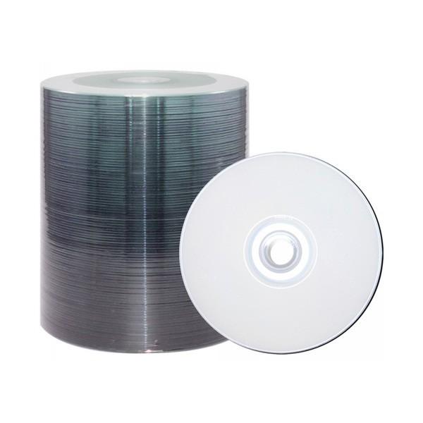 DVD-R 16x JVC-Taiyo Yuden Inkjet Silver Full Surface 100 uds