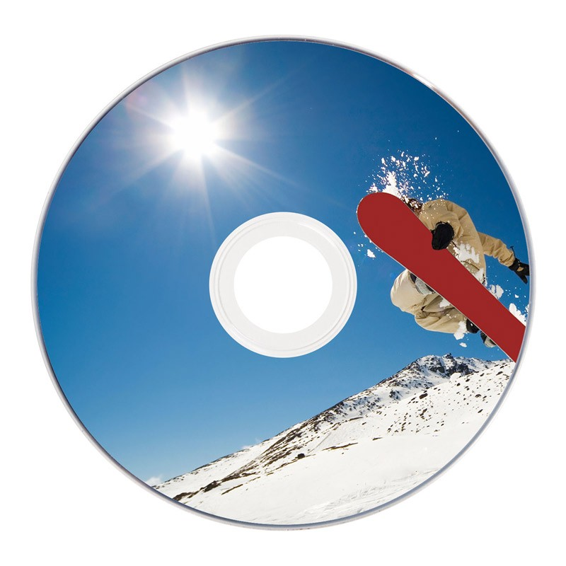 MINI DVD-R Verbatim 8cm FF Printable Tarrina 10 uds