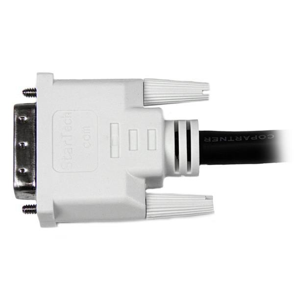 Cable de 0,3m DVI-D de Doble Enlace Macho a Macho