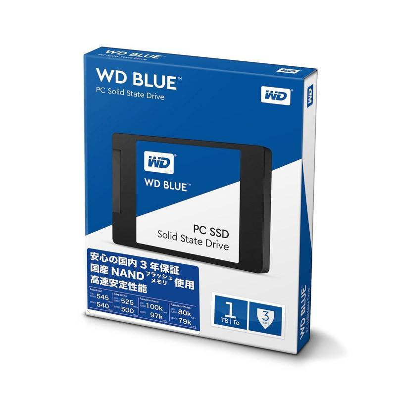 Disco Duro SSD 1TB WD Blue