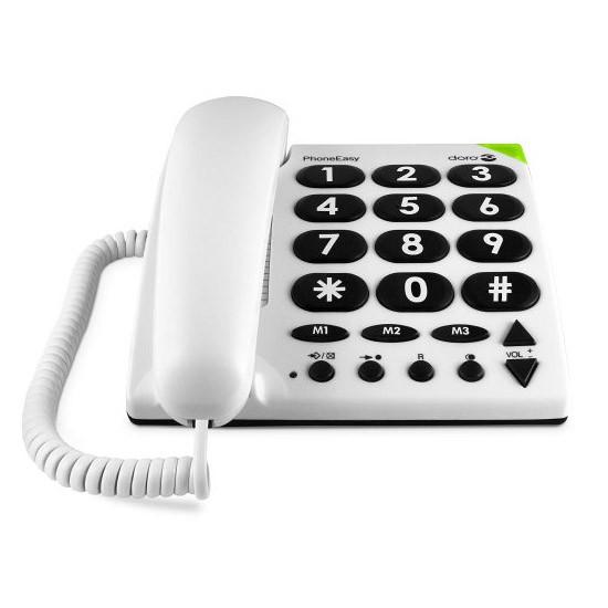 Teléfono Fijo Doro PhoneEasy 311c