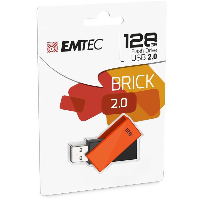 Pendrive 128GB Emtec C350 Brick