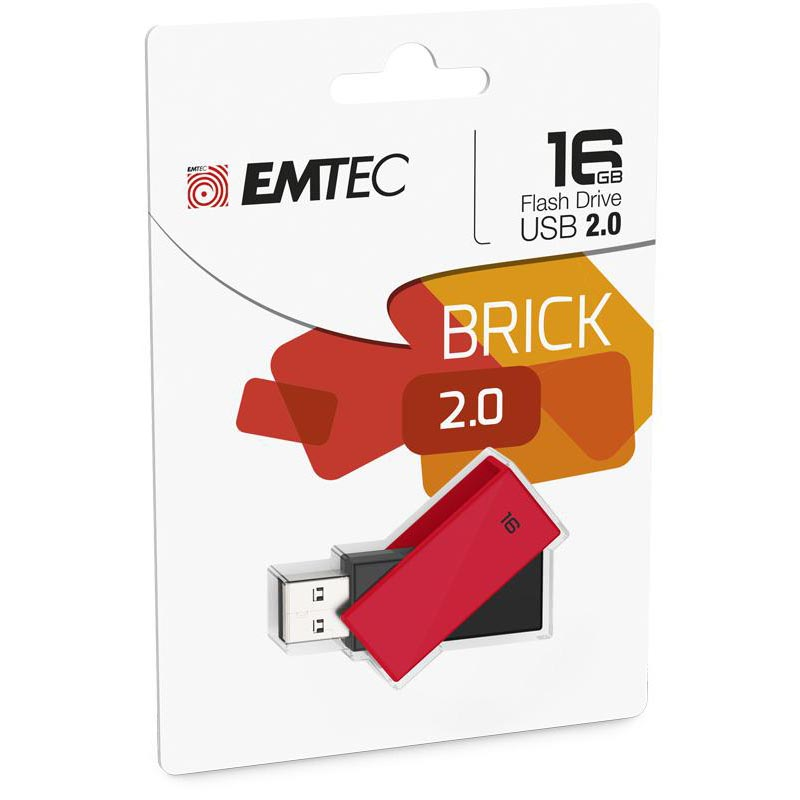 Pendrive 16GB Emtec C350 Brick