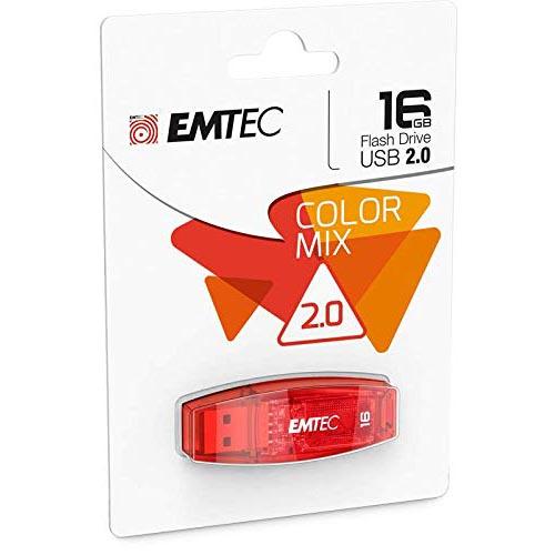 Pendrive 16GB Emtec C410 Color Mix