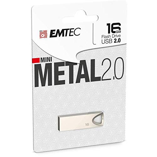 Pendrive 16GB Emtec C800 Mini Metal
