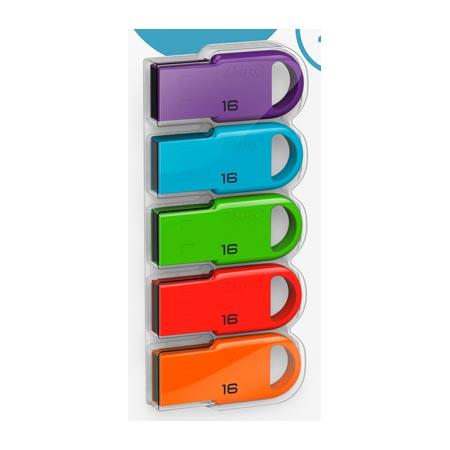 Pendrive 16GB Emtec D250 Mini - Colores Surtidos