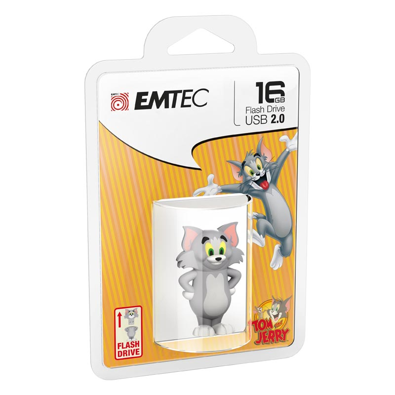 Pendrive 16GB Emtec 3D Tom